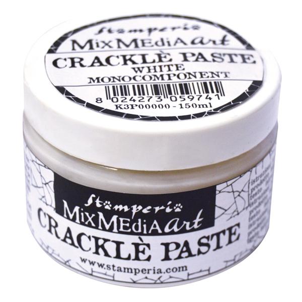 Паста для создания трещин моно-компонент Crackle Paste Stamperia