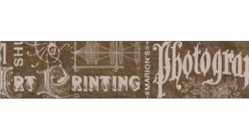 Декоративный скотч с рисунком для скрапбукинга Фото, винтаж