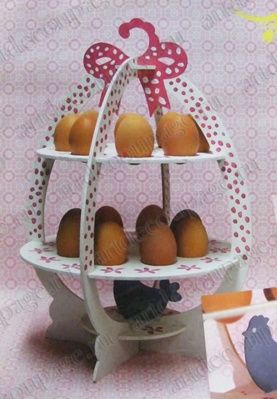 Заготовки для декупажа Подставка для пасхальных яиц, PRONTY - магазин АртДекупаж