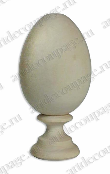 Заготовки  яйца пасхальные на подставке дерево, купить