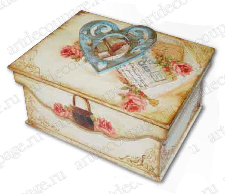 Заготовки шкатулок для декупажа из мдф, купить
