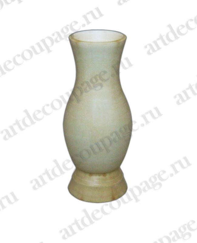 Заготовка деревянная вазочка маленькая из липы